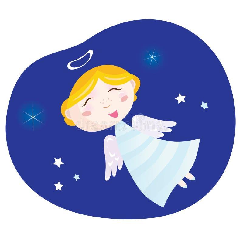 Download Christmas angel boy stock illustration. Illustration of design - 11928249