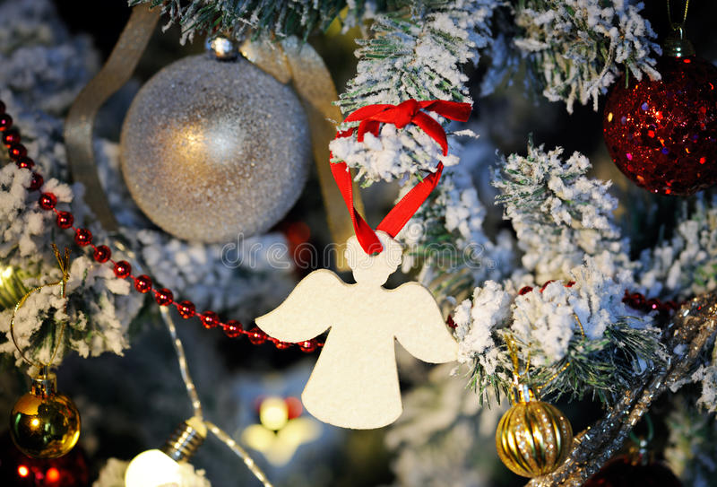 Christmas angel close up stock images