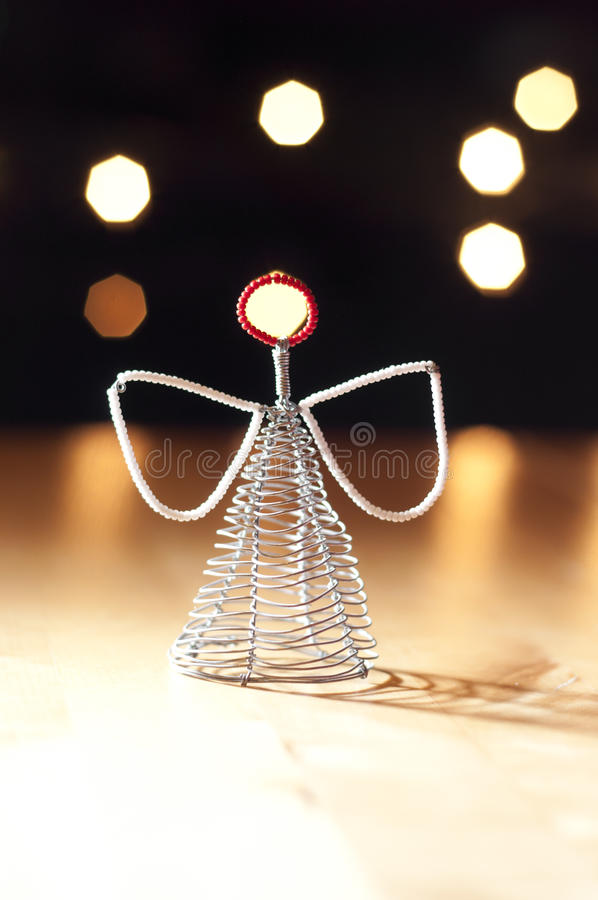 Download Christmas Angel decoration stock image. Image of lights - 27368555