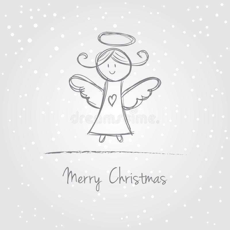 Download Christmas Angel Doodle Stock Photos - Image: 33869593