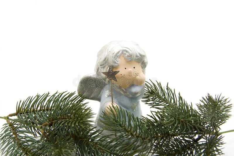 Download Christmas angel with star stock image. Image of christmas - 16413601