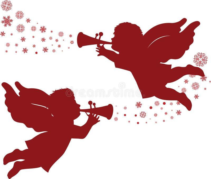 Christmas Angels. Stock Photos