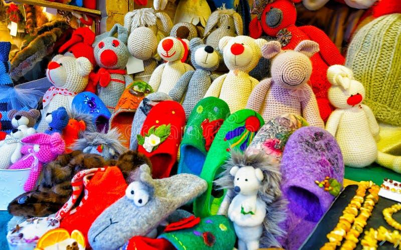 Christmas Market In Tallinn Editorial Photography Image