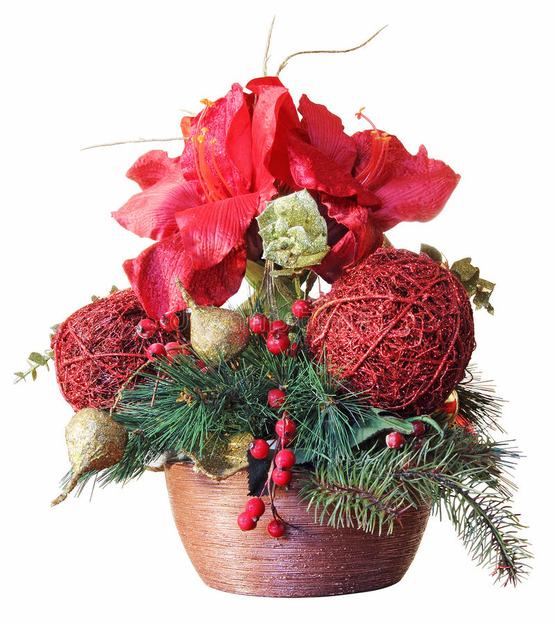 Free Christmas Arrangements Stock Images - 28119864