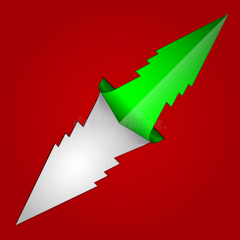 Christmas Arrow Royalty Free Stock Images - Image: 35174139