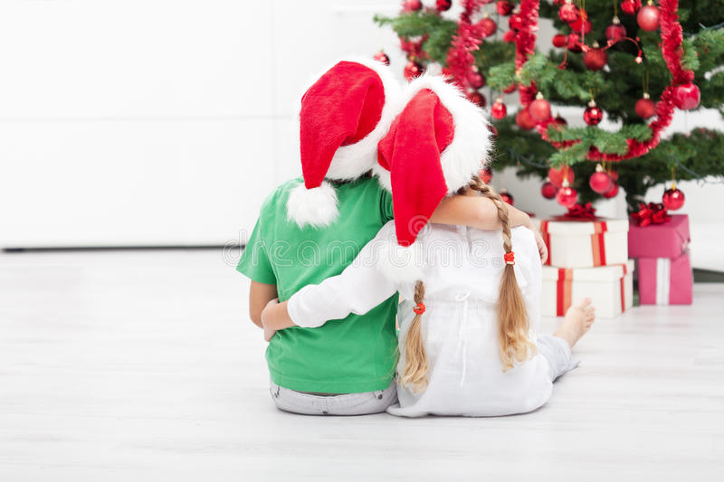 Christmas is awesome royalty free stock image