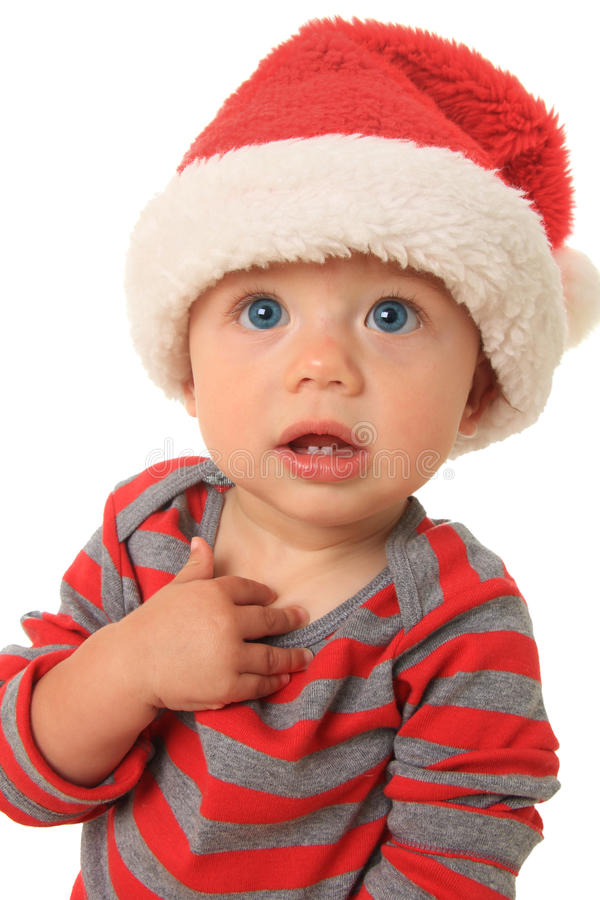 Download Christmas baby stock photo. Image of bare, merry, delight - 26582342