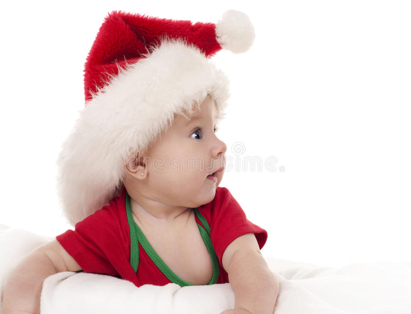 Download Christmas baby stock photo. Image of cute, claus, caucasian - 26782056