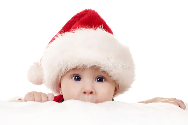 Download Christmas baby stock photo. Image of santa, caucasian - 26782068