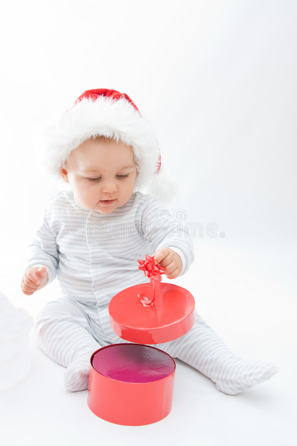 Download Christmas baby stock photo. Image of december, little - 6303464
