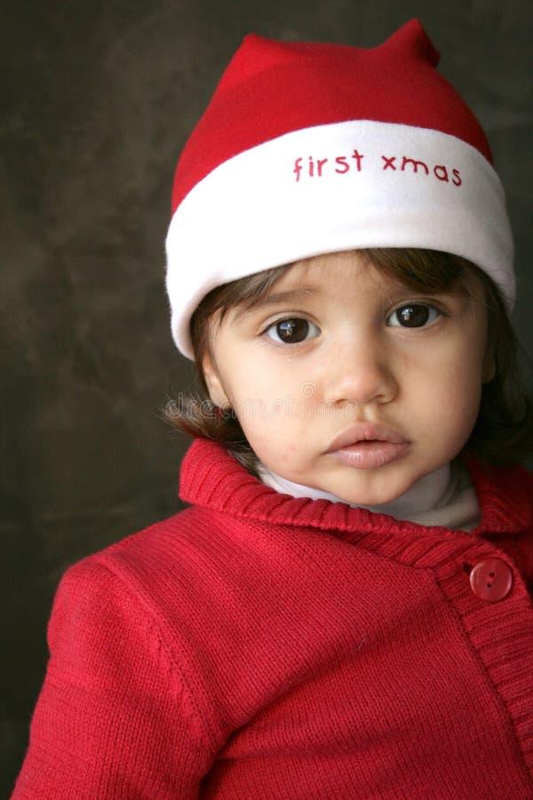Download Christmas baby stock photo. Image of klaus, babies, greetings - 7195832