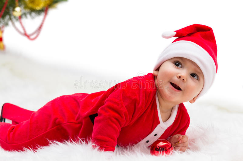 Download Christmas Baby stock image. Image of baby, little, dressed - 34835657