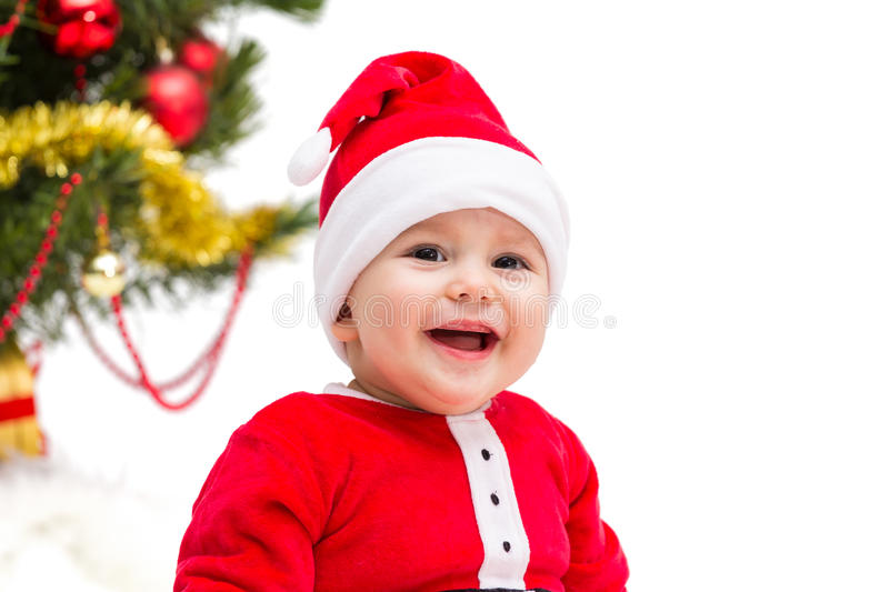 Download Christmas Baby stock image. Image of people, cute, funny - 34835649