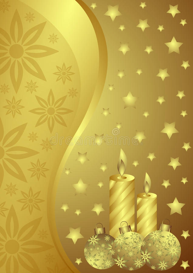 Download Christmas background stock illustration. Image of ball - 11143887