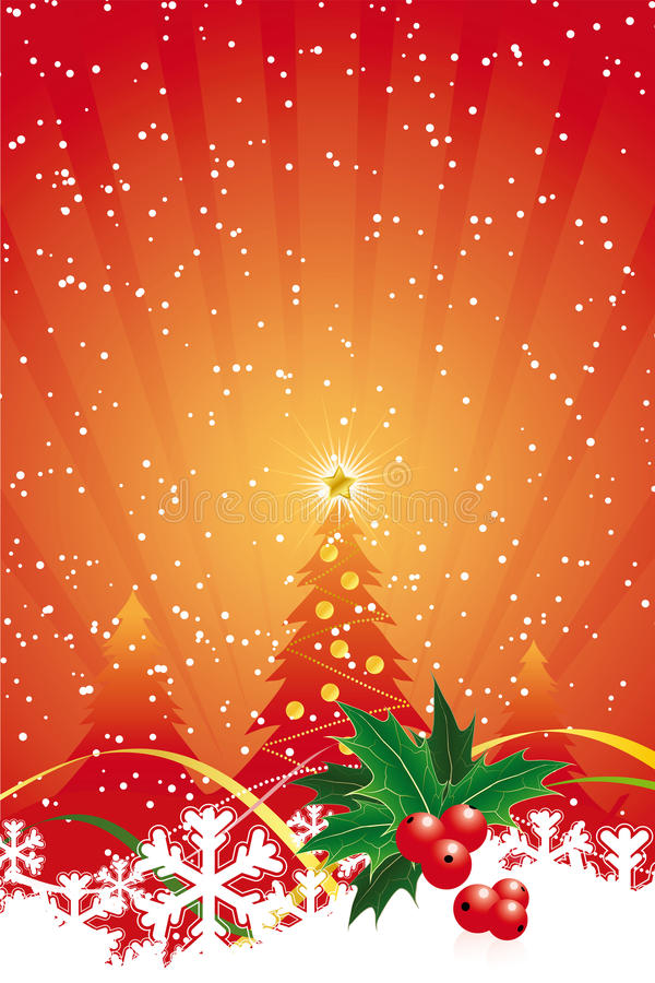 Christmas background royalty free illustration