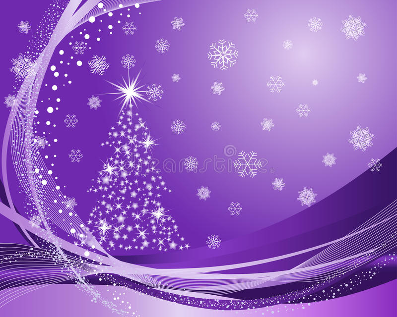 Christmas background. Beautiful vector Christmas (New Year) background for design use vector illustration