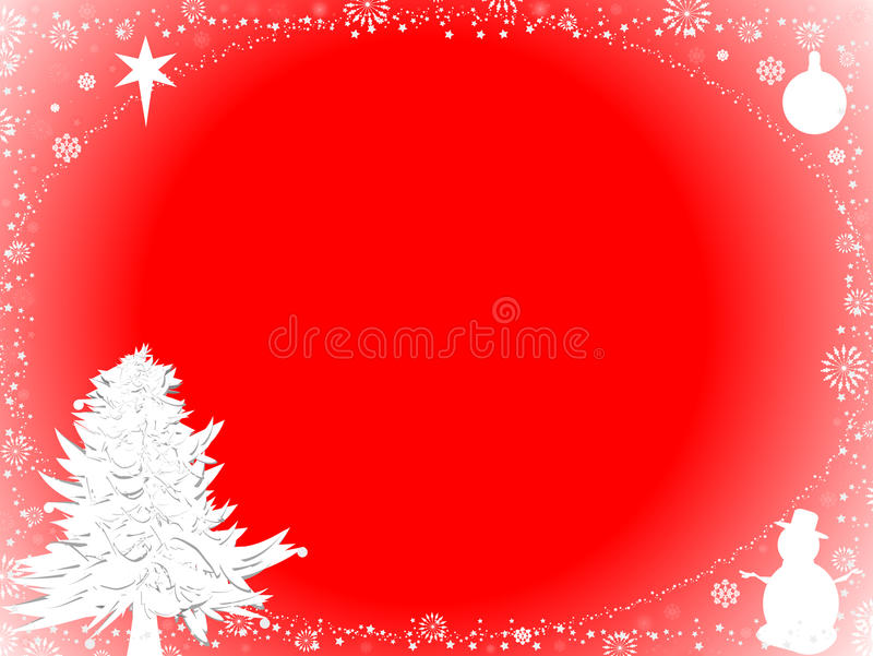 Download Christmas background stock illustration. Illustration of frame - 11601244