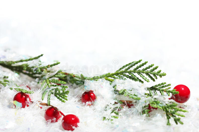 Download Christmas background stock photo. Image of snow, berry - 11711686