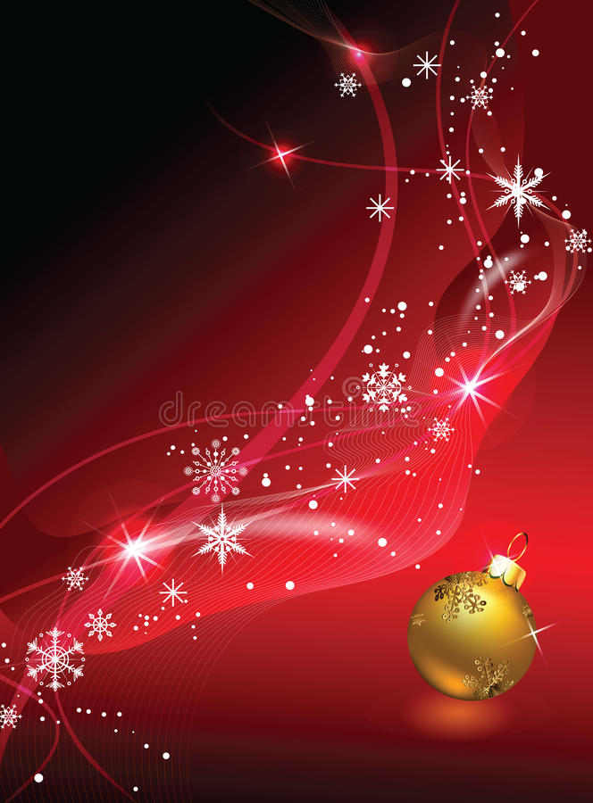 Download Christmas background stock vector. Image of balls, holiday - 16531997