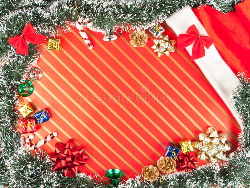 Download Christmas background stock photo. Image of bell, present - 16860096