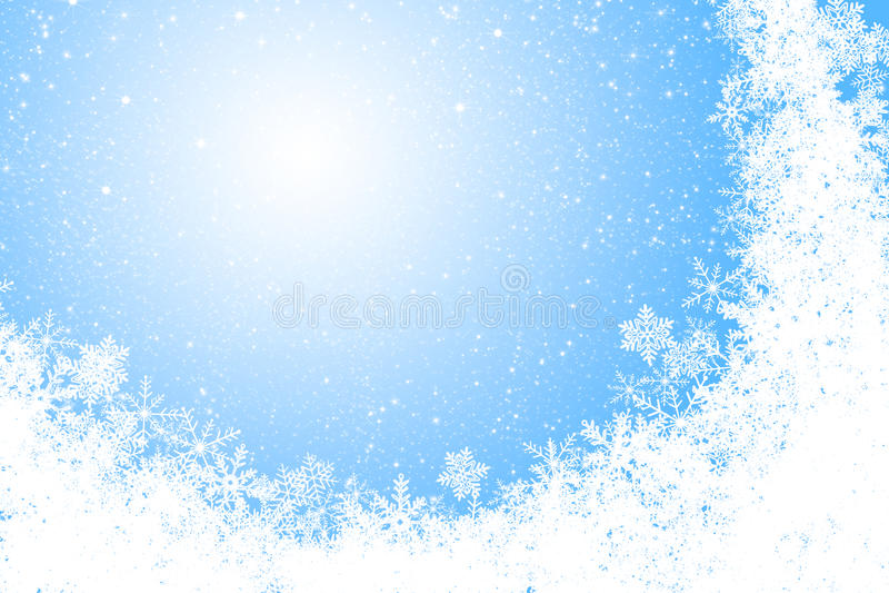 Download Christmas background stock illustration. Illustration of falling - 17215503