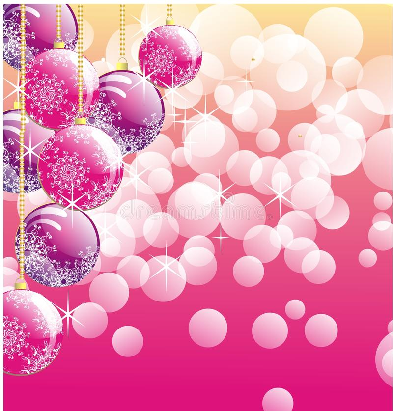Download Christmas background stock illustration. Image of bright - 17305452