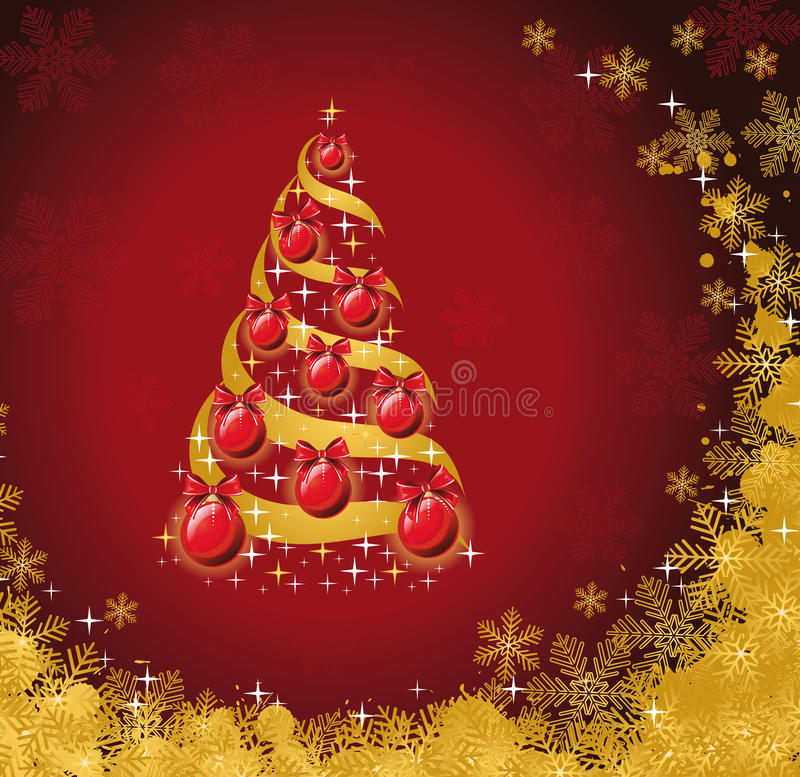 Download Christmas background stock vector. Image of ornament - 17955014