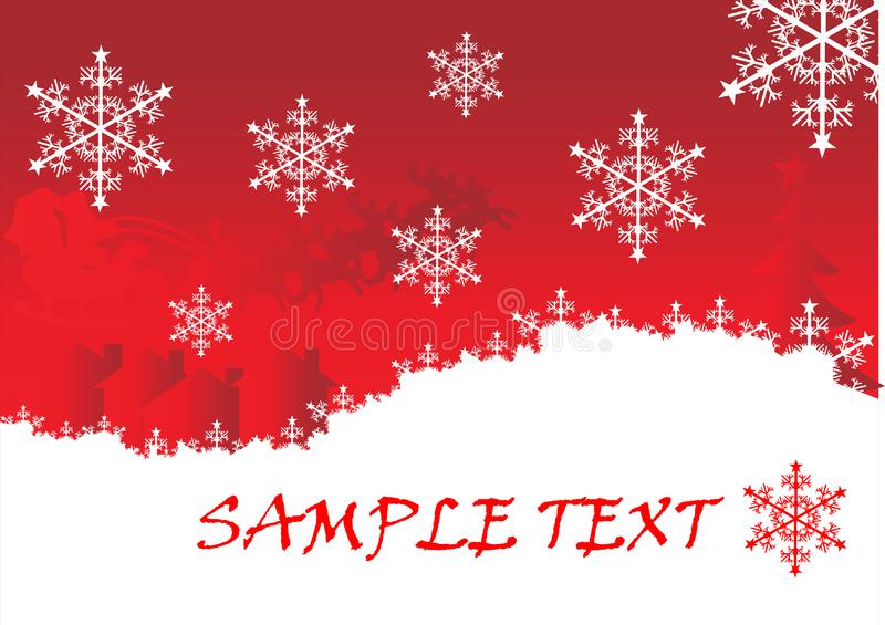 Christmas background 2.cdr royalty free stock image