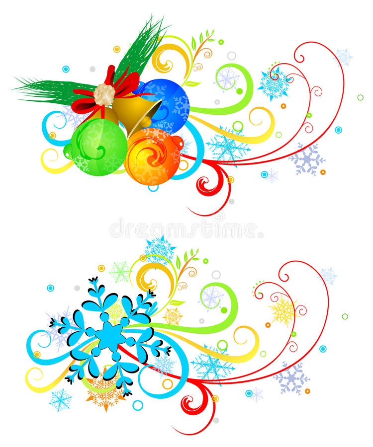 Download Christmas background stock vector. Illustration of sticker - 21530499