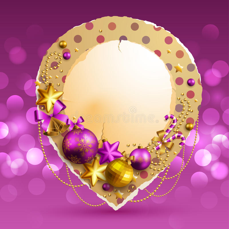 Download Christmas background stock vector. Image of decoration - 22012610