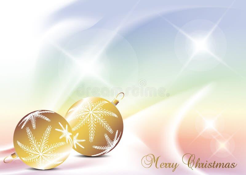 Christmas background. Elegant christmas background with christmas ball vector illustration
