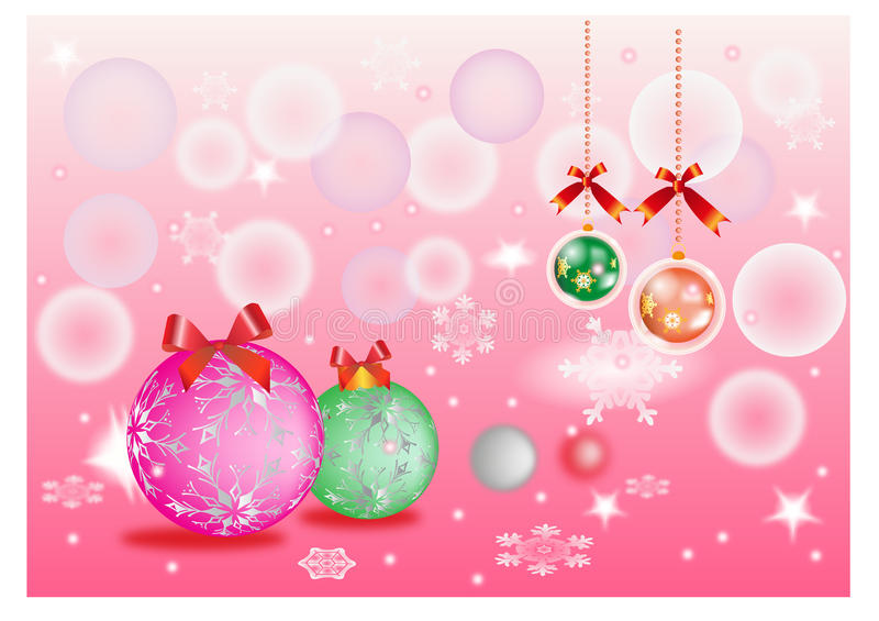Download Christmas background stock illustration. Image of fizz - 22464603