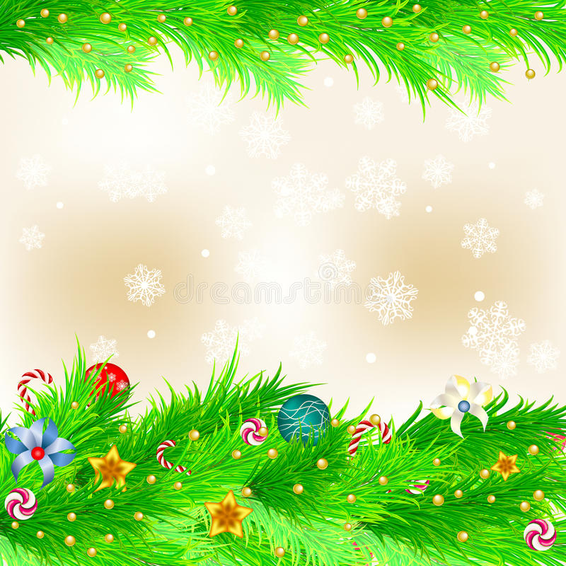 Download Christmas background stock vector. Image of merry, beautiful - 26211208