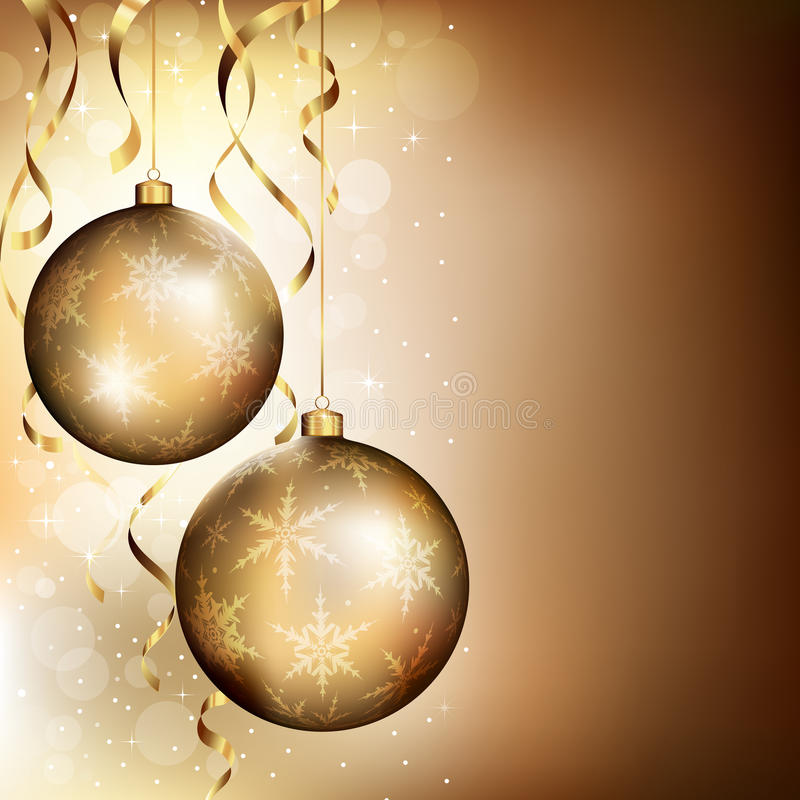 Download Christmas background stock vector. Image of reflection - 27029692