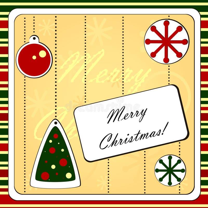Download Christmas background stock vector. Image of season, ball - 27504292