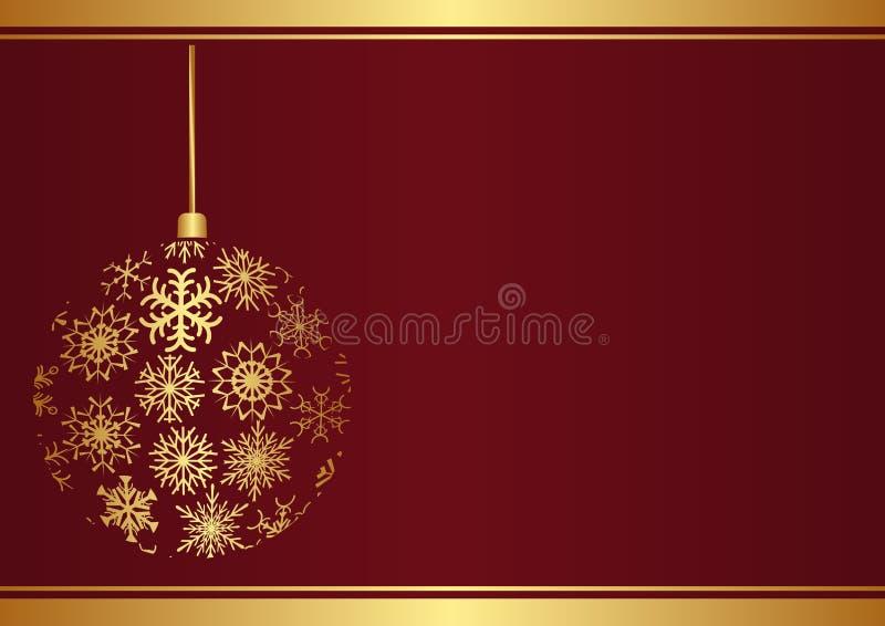 Download Christmas background stock vector. Image of metallic - 27918646