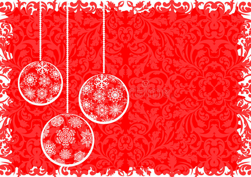 Download Christmas background stock vector. Illustration of ornaments - 28096853