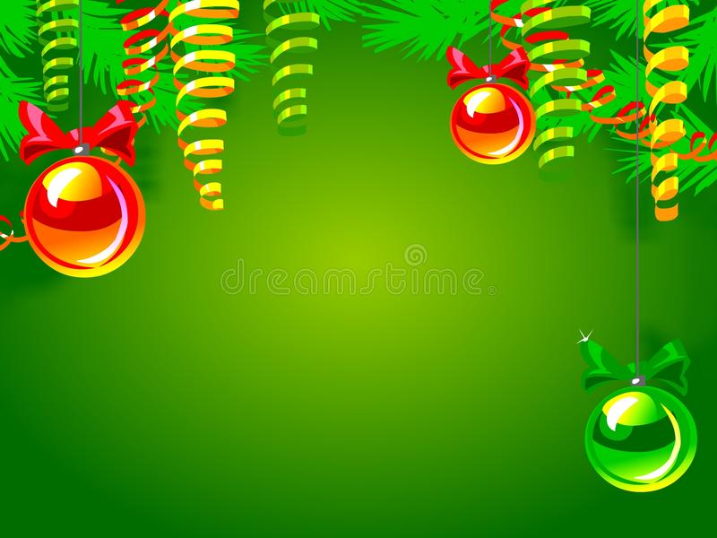 Download Christmas background stock illustration. Image of frame - 28763880