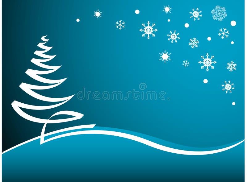 Christmas Background stock illustration