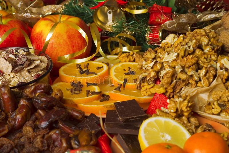 Download Christmas background stock image. Image of needles, food - 5532661