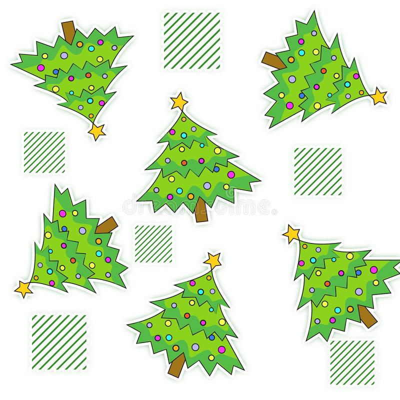 Download Christmas background stock illustration. Image of leaves - 6935806