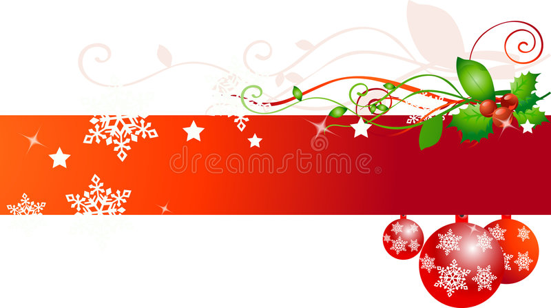 Christmas background. On white vector royalty free illustration