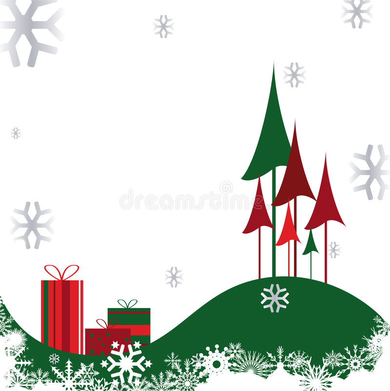 Download Christmas background stock vector. Image of decoration - 7313074
