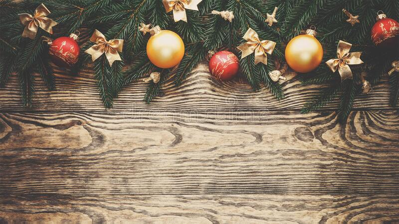 Download Christmas background stock photo. Image of wood, decorations - 88493392