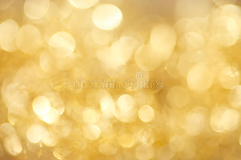 Christmas background. Abstract twinkled gold christmas background royalty free stock photos