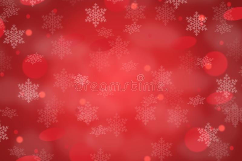 Christmas background backgrounds card copyspace copy space red wallpaper pattern. Snowing vector illustration