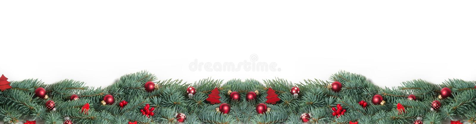 Christmas Background, Banner stock image