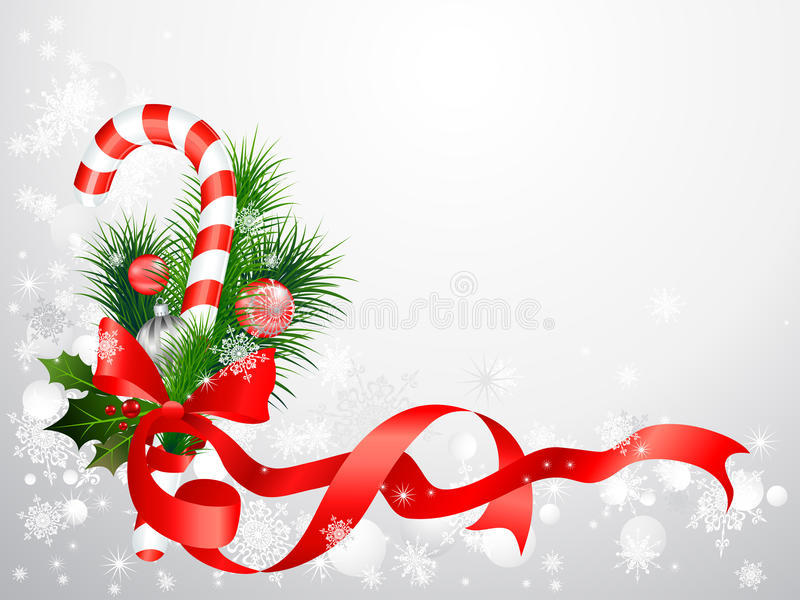 Download Christmas Background With Candy Cane Stock Image - Image: 22357459