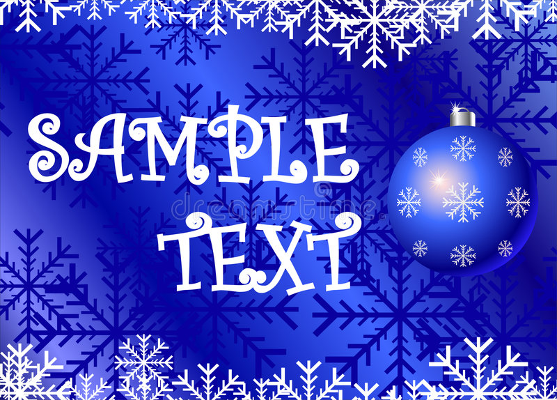 Christmas background.cdr stock illustration