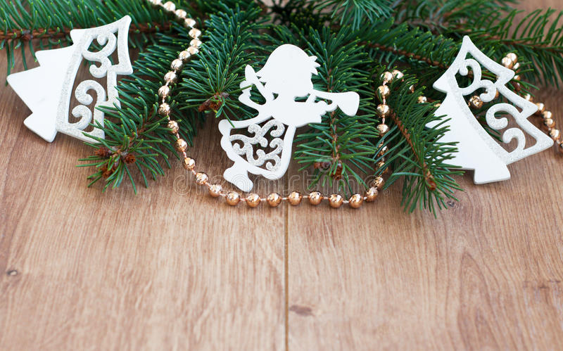 Download Christmas background stock photo. Image of wings, adornment - 35734266